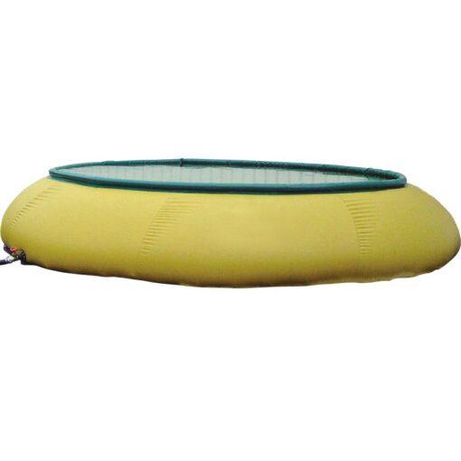 Cisterna de almacenaje flexible abierta en tejido PVC, 5000 L 300 cm x 300 cm x 100 cm 1