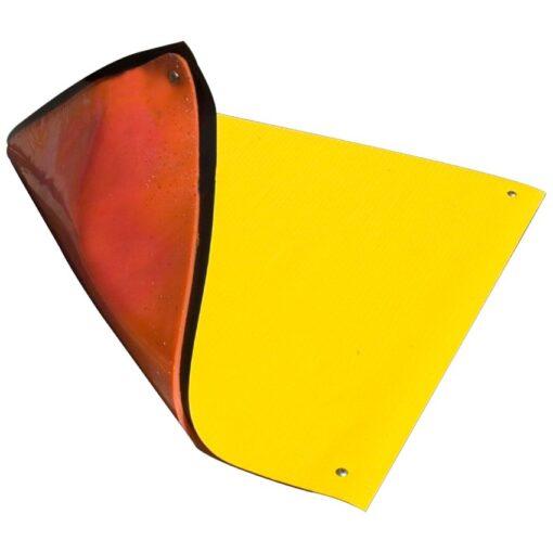 Placa de obturación monocapa reforzada para paso de vehículos 9,1 cm x 9,1 cm 1