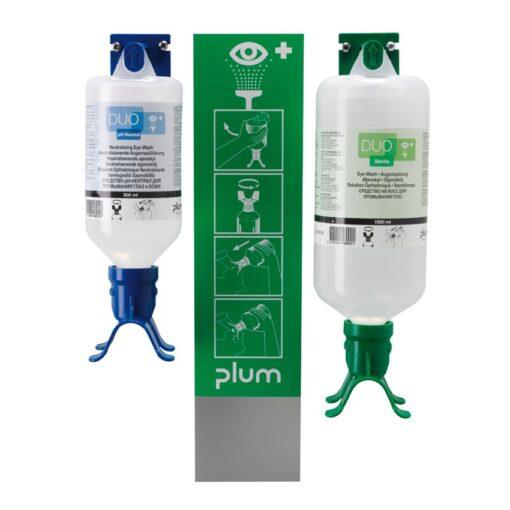 Estación mural autónoma pH Neutral Duo para los ojos, 2 frascos 1