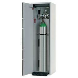 Armario de seguridad interior antifuego para 1 botella de gas, tipo 90. 60 cm x 61,5 cm x 205 cm