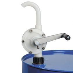 Bomba manual rotativa de Teflon® 20 L/min