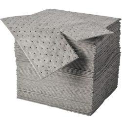 """100 hojas absorbentes universales """"Uptimum"""" doble espesor con capa de refuerzo en ambos lados. 41 cm x 46 cm"""