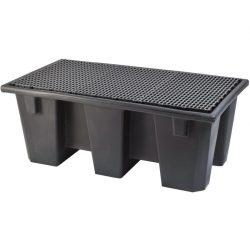 Cubeta de retención 2 bidones Prim's, 220 litros 126,5 cm x 70 cm x 49,5 cm