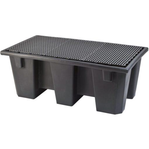 Cubeta de retención 2 bidones Prim's, 220 litros 126,5 cm x 70 cm x 49,5 cm 1