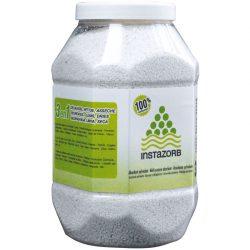 Caja con 6 envases de 3L  Absorbente universal mineral InstaZorb multiuso para todo tipo de producto y de viscosidad.