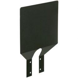 Placa descriptiva de acero para soporte de bolsa
