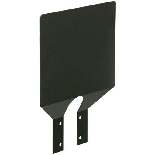 Placa descriptiva de acero para soporte de bolsa 1