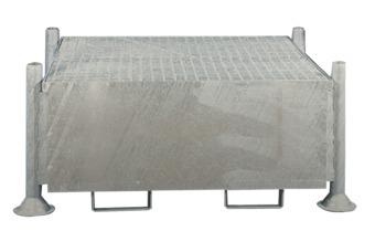 Cubeta de retención remontable para 1 cubitainer, 1000 litros 155 cm x 132 cm x 81 cm 1