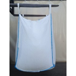 Big bag filtrante para partiuclas superiores a  80 µ, uso único