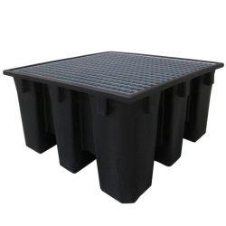 """Prim's"" Cubeta de retención  1 GRG/IBC , 1100 litros. 138 cm x 128 cm x 100 cm"