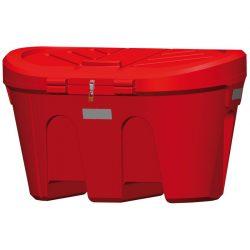 Cubeta para sal/tierra de alta resistencia 300 L 71 cm x 85 cm x 71 cm