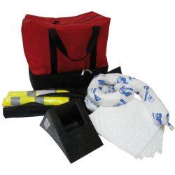Kit ADR con lona de obturación y absorbentes