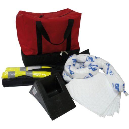 Kit ADR con lona de obturación y absorbentes 1