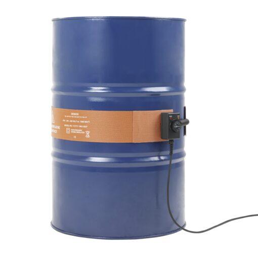 Manta calefactora siliconada para bidones metálicos 1