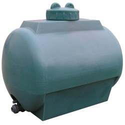 Tanque de agua de 140L en polietileno, 78 cm x 52 cm x 70,5 cm
