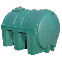 Depósito de agua de 4000L en polietileno, 240 cm x 165 cm x 175,5 cm