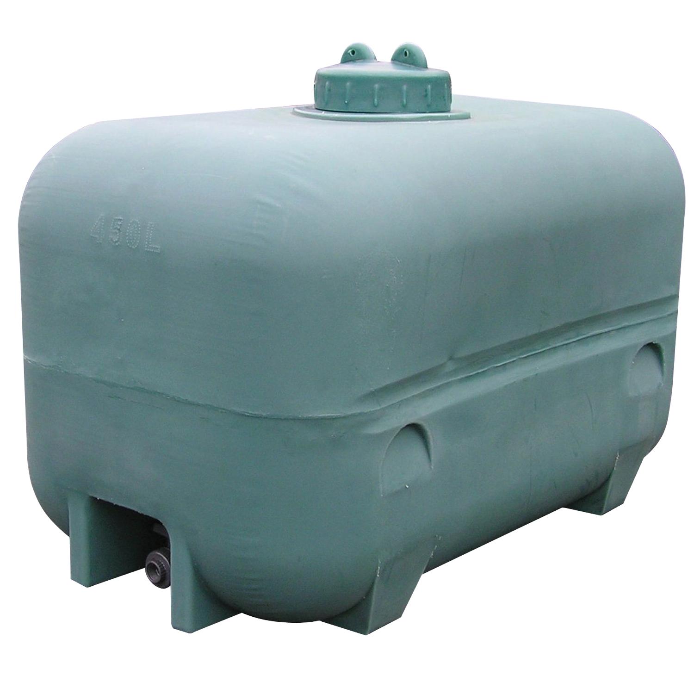 Dep sito de almacenamiento de agua en polietileno 450 l - Contenedores de agua ...