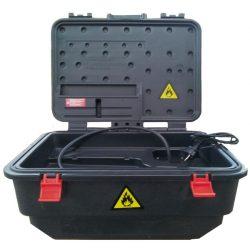Lécofont® Mini fuente portátil para  un desengrase biológico.