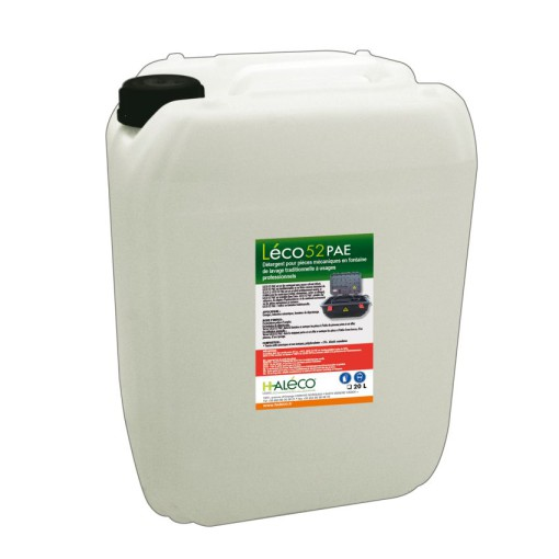 Detergente biológico Léco52PAE® para fuente de desengrase 1