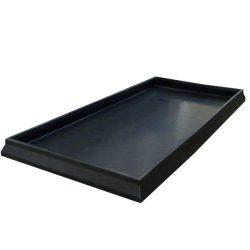 Cubeta de retención para estantería para productos corrosivos
