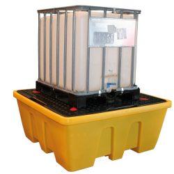 Cubeta de retención PE 1 GRG/IBC, 1260 litros | Haleco 01