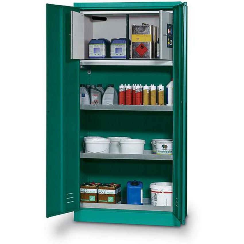 Armario para productos fitosanitarios con box de seguridad - Armarios para guardar productos de limpieza ...