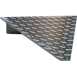 Esquina de acceso para plataforma de retención 50 cm x 50 cm