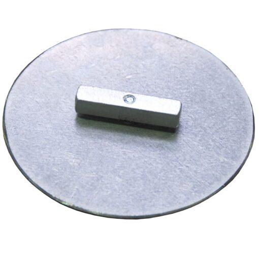 Cruz de unión para plataformas y losas de retención 14,5 cm x 14,5 cm x 1,5 cm 1
