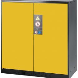 Armario bajo de seguridad para productos peligrosos 105,5 cm x 52 cm x 110,5 cm