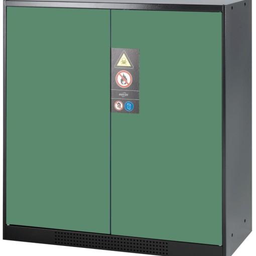 Armario bajo de seguridad para productos peligrosos 105,5 cm x 52 cm x 110,5 cm 1