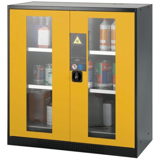 Armario de seguridad para productos peligrosos 105,5 cm x 52 cm x 110,5 cm 1