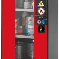 Armario bajo de seguridad para productos peligrosos 54,5 cm x 52 cm x 110,5 cm