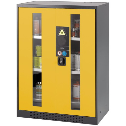 Armario bajo de seguridad para productos peligrosos81 cm x 52 cm x 110,5 cm 1