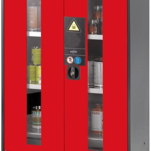 Armario bajo de seguridad para productos peligrosos 81 cm x 52 cm x 110,5 cm 1