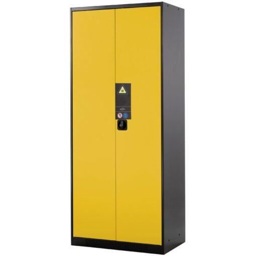 Armario alto de seguridad para productos peligrosos 105,5 cm x 52 cm x 195 cm 1