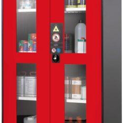 Armario alto de seguridad para productos peligrosos 105,5 cm x 52 cm x 195 cm