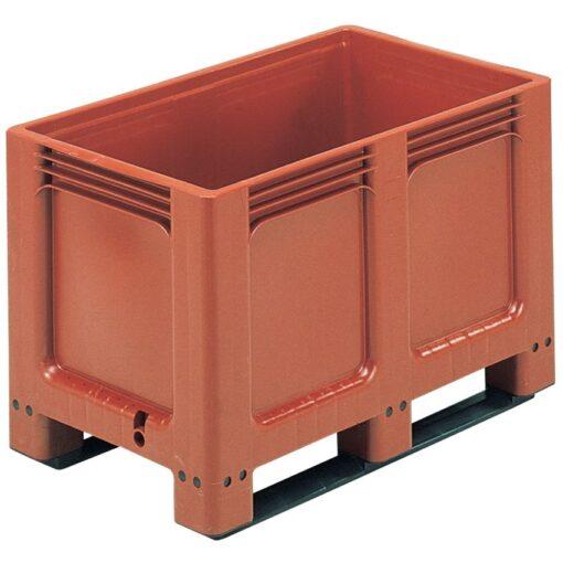 GEOBOX® Caja-palet 260 litros,  100 cm x 60 cm x 66,2 cm 1