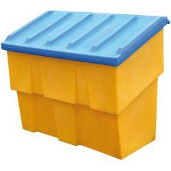 Cubeta para sal / arena de polietileno 500 L 125,5 cm x 75 cm x 120 cm