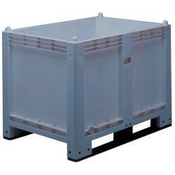 Caja-palet económica 550 L, 120 cm x 80 cm x 85 cm