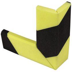 Amortiflex® Amortiguador de impactos para esquina en ángulo recto espeso