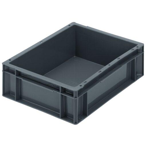 Cubeta apilable económica, 10 L, 40 cm x 30 cm x 11,8 cm 1