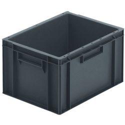 Cubeta apilable económica, 20 L,  40 cm x 30 cm x 23,5 cm