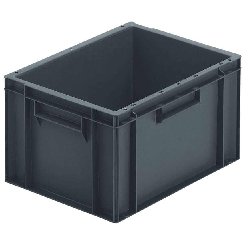 cubeta apilable econ mica 20 l 40 cm x 30 cm x 23 5 cm. Black Bedroom Furniture Sets. Home Design Ideas