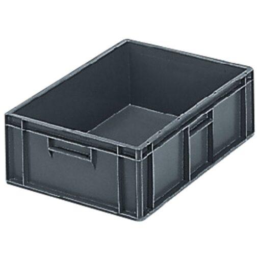 Cubeta apilable económica, 33 L, 60 cm x 40 cm x 17,5 cm 1