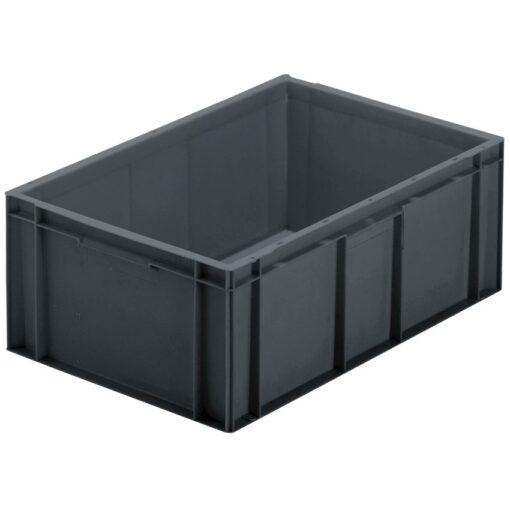 Cubeta apilable económica, 45 L, 60 cm x 40 cm x 23,5 cm 1