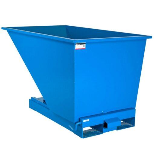 Contenedor autobasculante manipulable por carretilla elevadora, 600 L 152,5 cm x 86,5 cm x 87 cm 1