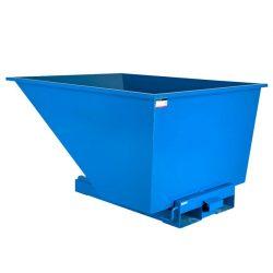 Contenedor autobasculante manipulable por carretilla elevadora, 900 L 152,5 cm x 121,5 cm x 87 cm