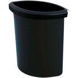 Recipiente de plástico Color Negro para recogida 6 L