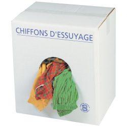 Paños colorados para secado corriente