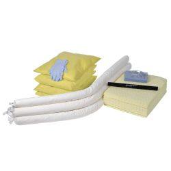 Recarga para kit anticontaminación productos químicos en caja con ruedas, 550 L